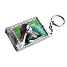 Personalised Torch Keyring In Gift Pouch